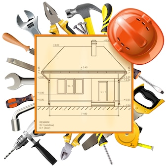 Constructie layout