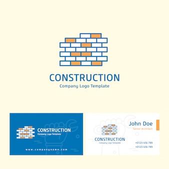 Constructie logo ontwerp