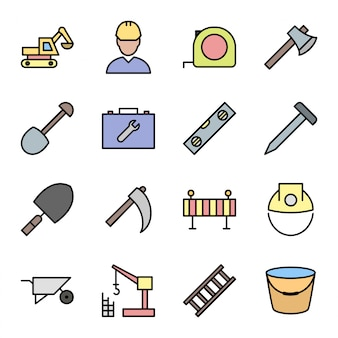 Constructie pictogrammen