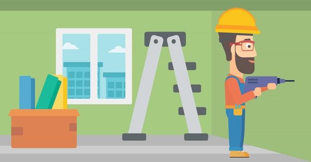 Constructor met perforator.