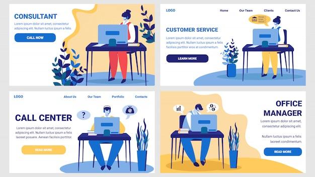 Consultant, klantenservice, callcenter, kantoor