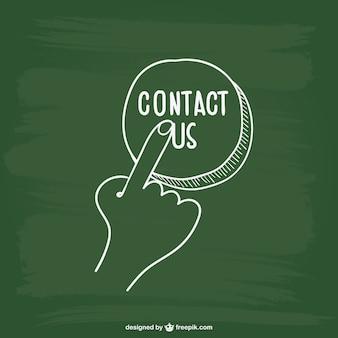 Contact button kattebelletje