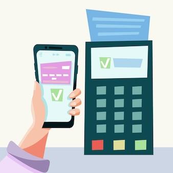 Contactloze kaartbetaling
