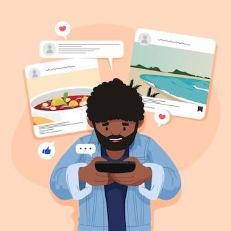 Content delen op sociale media