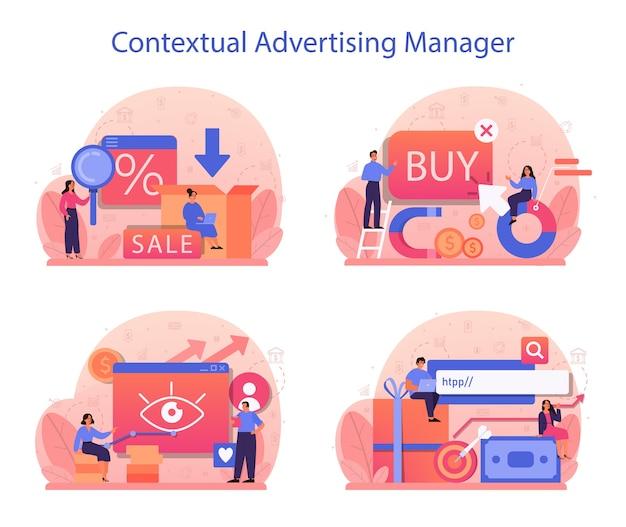 Contextuele advertenties en targetingconcepten