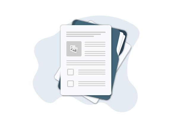 Contractpapieren. document. map met stempel en tekst. contract ondertekenen. contract overeenkomst memorandum van overeenstemming juridisch document stempel zegel, concept voor webbanners, websites, infographics.