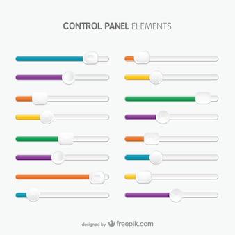 Control plaatelementen