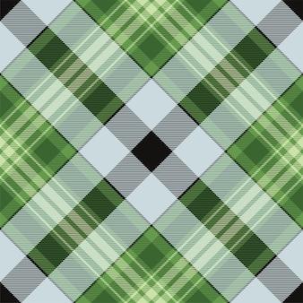 Controleer geruit patroon naadloos. tartan stof textuur. streep vierkante achtergrond. vectortextielontwerp.