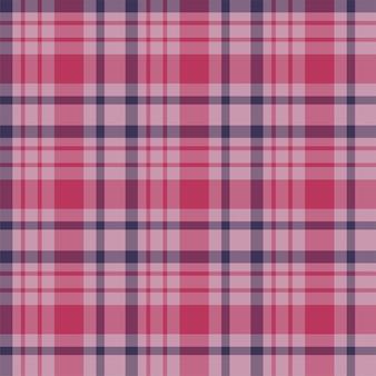 Controleer geruite naadloze patroon. achtergrond van textiel ornament. platte stof ontwerp. t