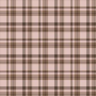 Controleer geruite naadloze patroon. platte stof ontwerp. tartan.