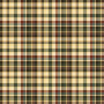 Controleer geruite naadloze patroon. vectorachtergrond van textielornament. platte stof ontwerp. tartan.