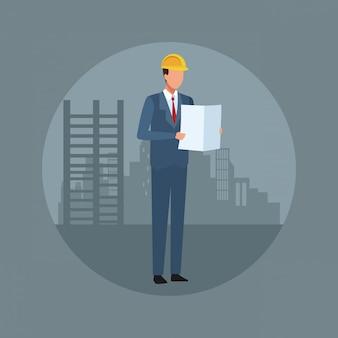 Contruccion architect-avatar