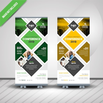 Conventie roll-up banner