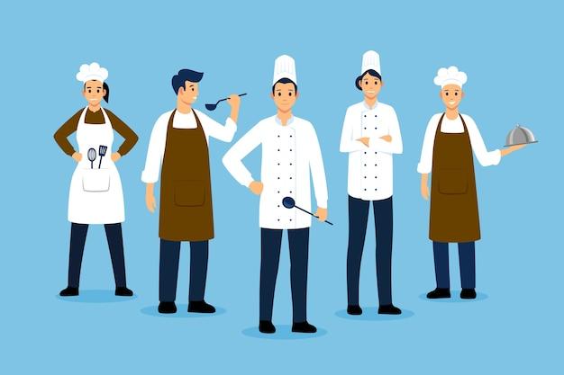 Cook collectie concept