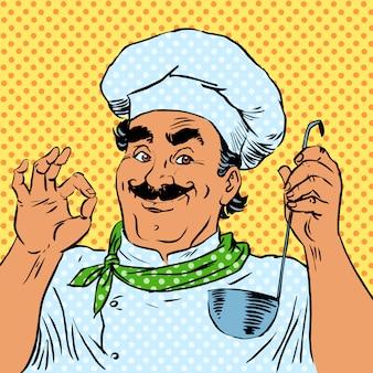 Cook keuken voedsel kwaliteit restaurant chef-kok
