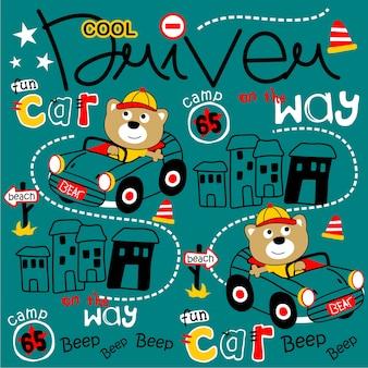 Cool bestuurderspatroon
