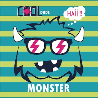 Cool monster