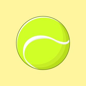 Cool tennisbal sport illustratie