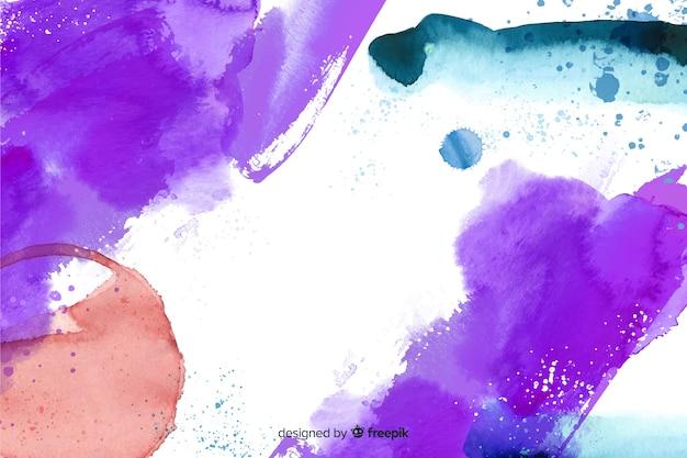 Coole abstracte handgeschilderde achtergrond