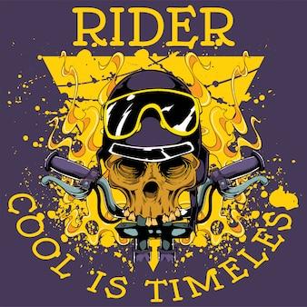 Coole rijder