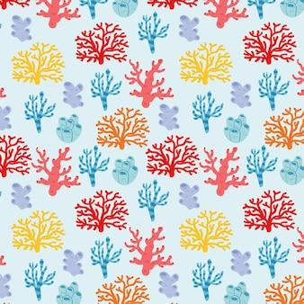 Coral patroon