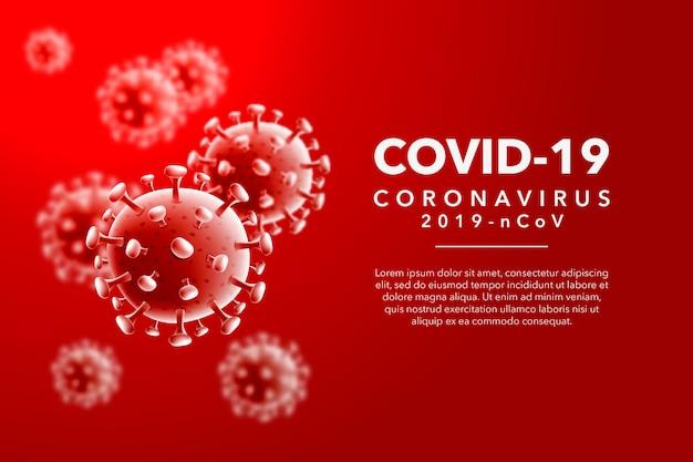 Coronavirus achtergrond