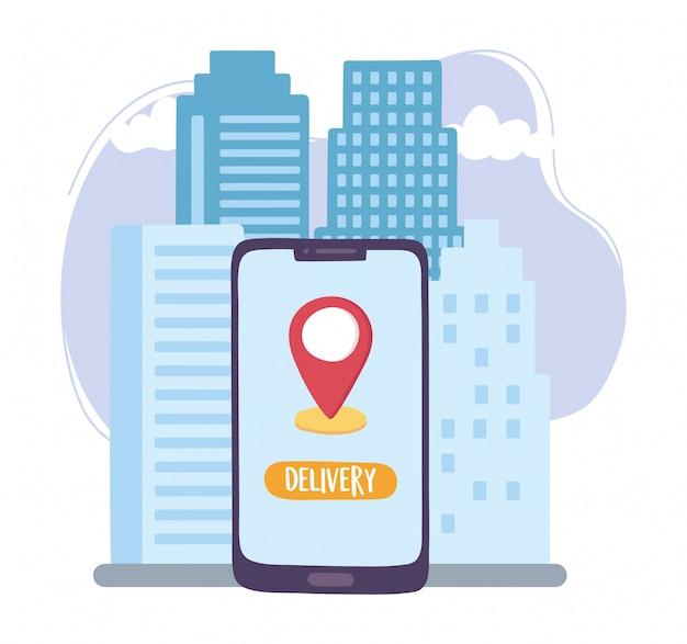 Coronavirus, bezorgservice, smartphone bestelling