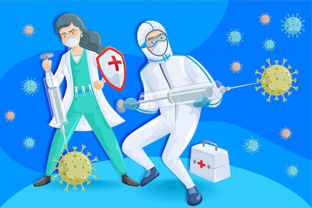 Coronavirus covid 19 vechters 02