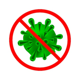 Coronavirus covid-19 vector illustraties concept