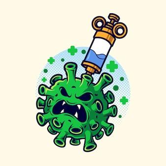 Coronavirus en vaccin