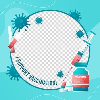 Coronavirus facebook-frame voor profielfoto