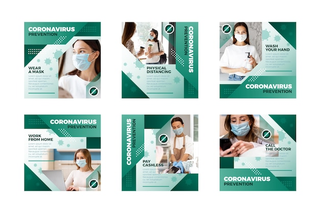 Coronavirus ig post collectie