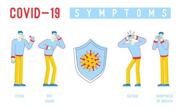 Coronavirus infographics illustratie