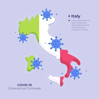 Coronavirus kaart