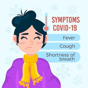 Coronavirus-symptomen