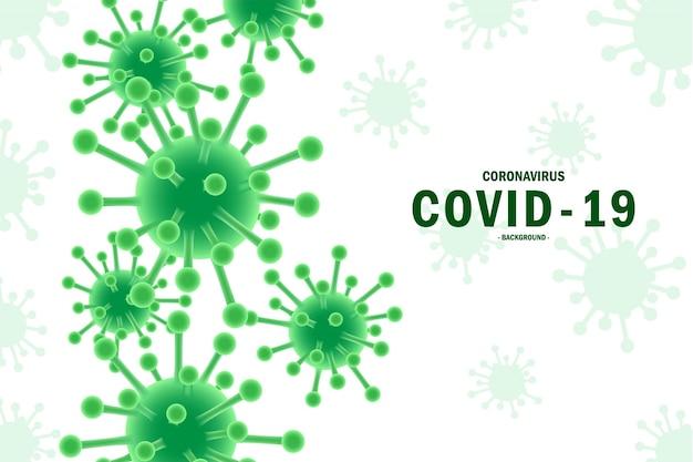 Coronavirus typografie conceptontwerp, stop virus covid19, blijf thuis, coronavirus, vectorillustratie.