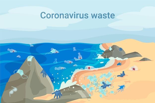 Coronavirus verkwister achtergrond