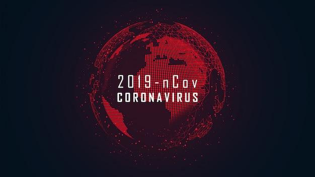 Coronavirus wereldwijde pandemie-uitbraak