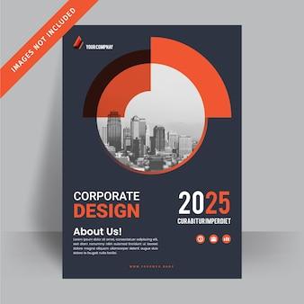 Corporate business flyer ontwerpsjabloon