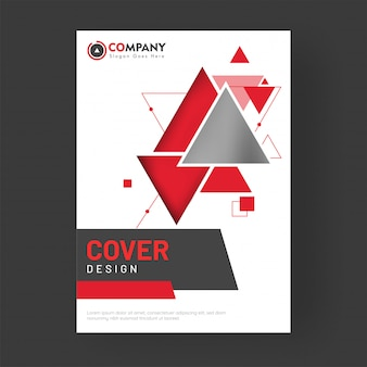 Corporate cover ontwerp