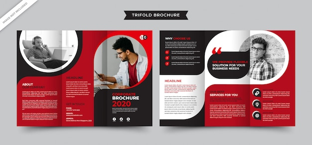 Corporate creative agency brochure
