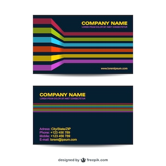 Corporate identity set geometrisch ontwerp