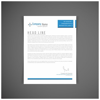 Corporate identity set of kit voor uw bedrijf sjablonen brief vector-formaat bewerkbare plaats voor tekst