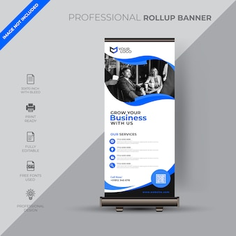 Corporate roll-up sjabloon