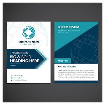 Corporatieve folder template