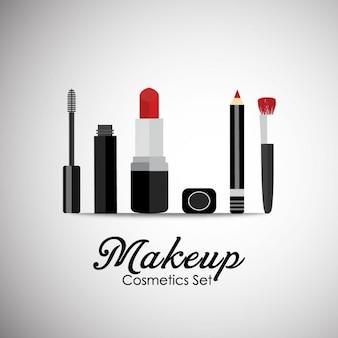 Cosmetica achtergrond ontwerp