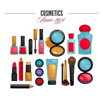 Cosmetica en fashion make-up objecten