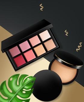 Cosmetica en poeder blush collectie