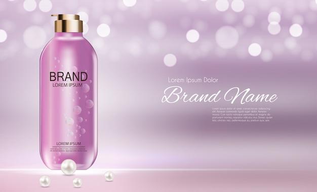 Cosmetica-productsjabloon