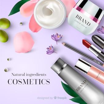 Cosmetische advertentie